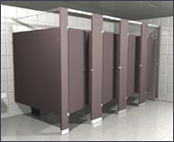 toilet partitions - Commercial Bathroom Partitions